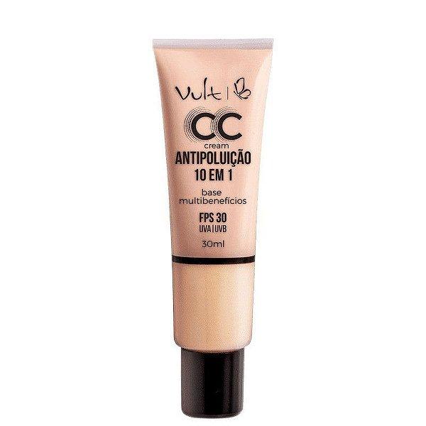 CC Cream Vult Base Multibenefícios 10 em 1- MB01- 30ml
