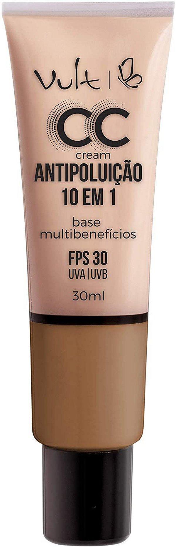 CC Cream Vult Base Multibenefícios 10 em 1 - MB05 - 30ml