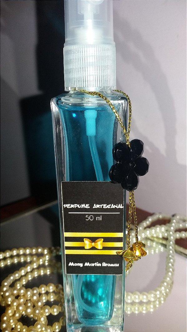 Perfume Artesanal Versão inspirada Floratta azul 50 ml