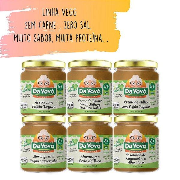 Sopinhas Veg | Sem carne 8+ | kit com 6 unidades