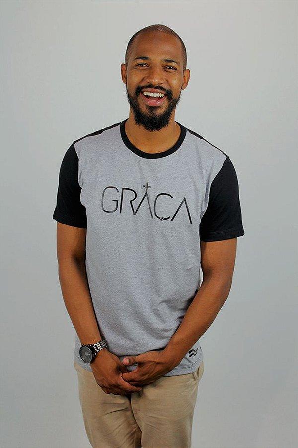 Camiseta Graça Bicolor