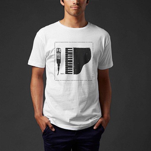 Camiseta · Piano e Voz, Amigos e Pertences 2