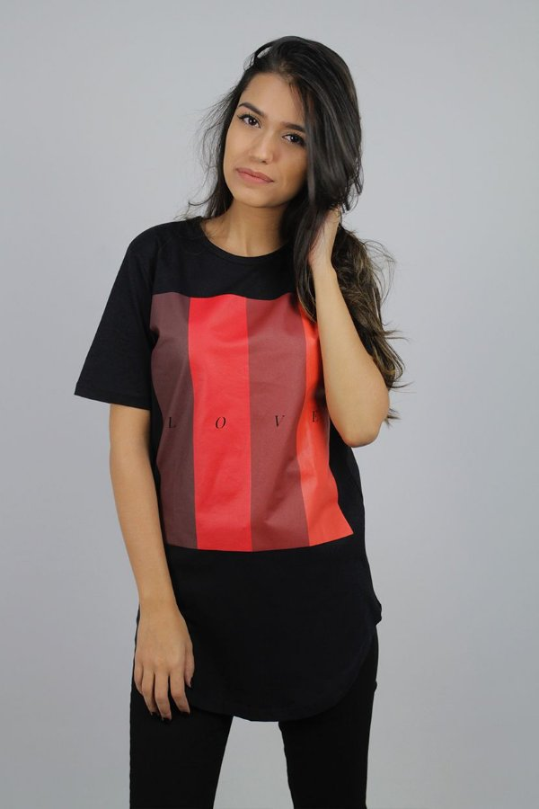 Camiseta Love · Feminina