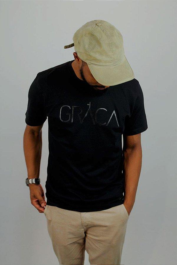 Camiseta Graça Preta