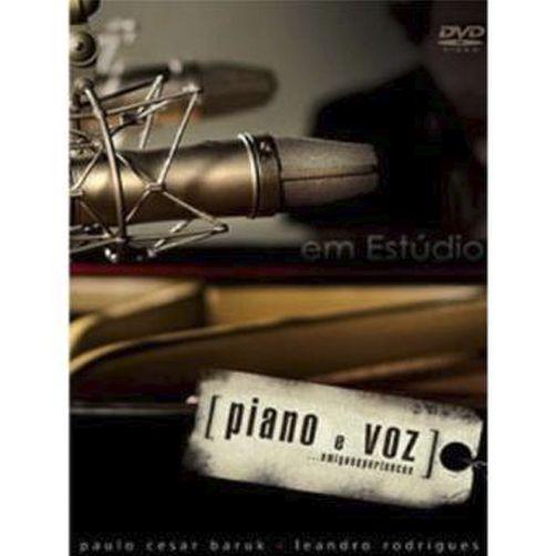 DVD PIANO E VOZ AMIGOS E PERTENCES