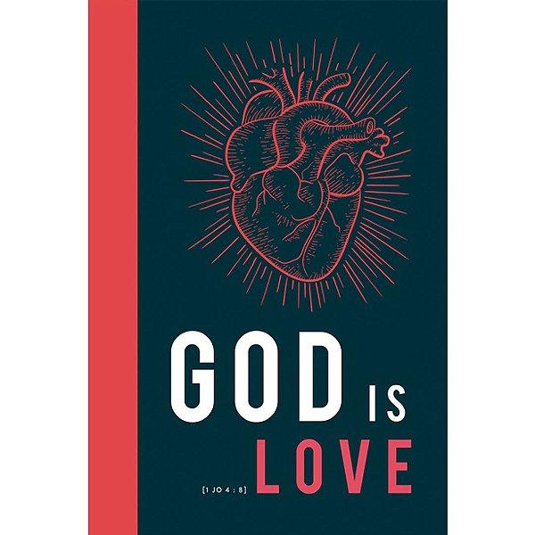Bíblia NVT - God is love (Letra normal/capa dura)
