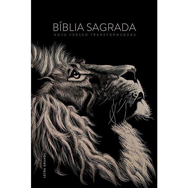 Bíblia NVT - Lion Head (Letra grande/capa dura)
