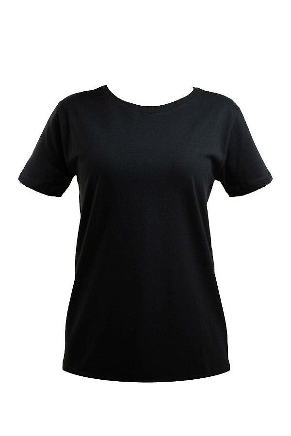 Kit 3 T-Shirts Básicas Preta/Branca/Cinza