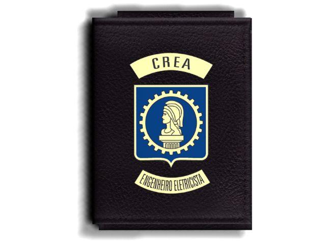 Carteira Premium Funcional Personalizada com logo do CREA - Engenheiro Eletricista