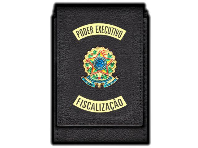 Carteira Standart Plus Funcional Personalizada do   Poder Executivo com Brasões para Fiscalização