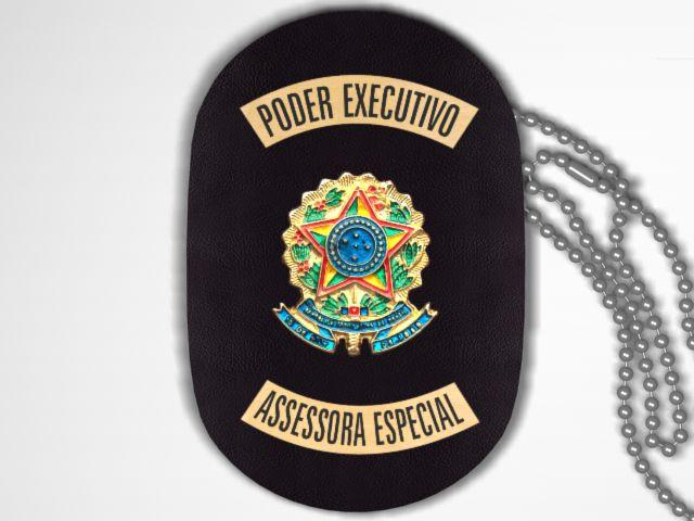 Distintivo Funcional Personalizado do Poder Executivo para Assessora Especial