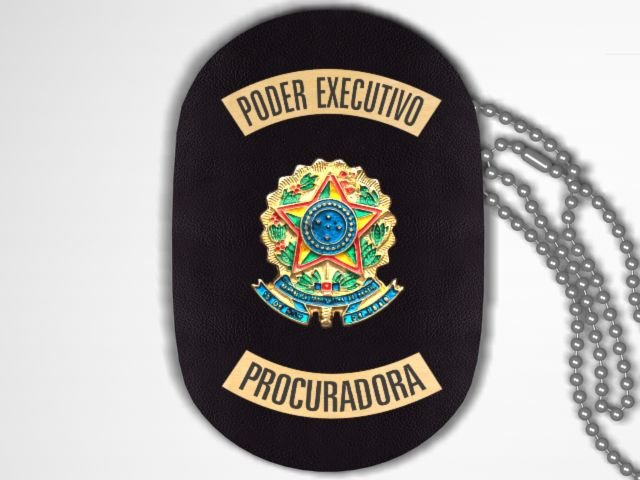 Distintivo Funcional Personalizado do Poder Executivo para Procuradora
