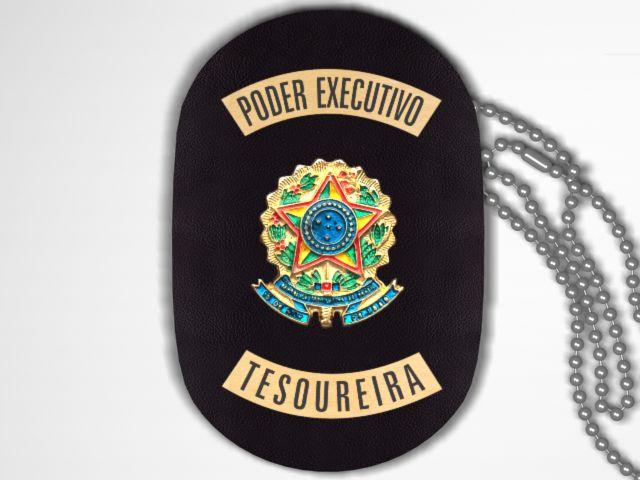 Distintivo Funcional Personalizado do Poder Executivo para Tesoureira