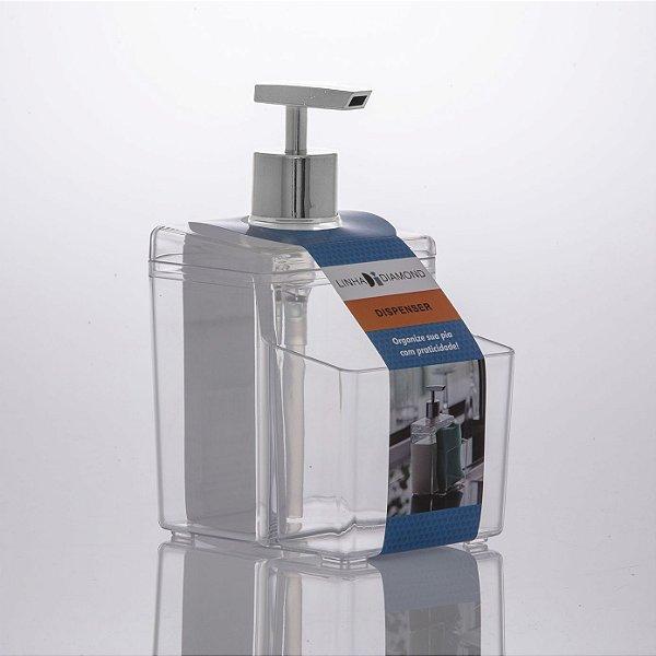 Porta detergente dispenser 570ml Diamond