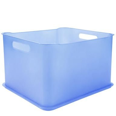 Caixa Organizadora Cube G s/ tampa 32l