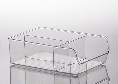 Organizador Diamond com Divisórias Cristal | 28X18X 9CM - 884