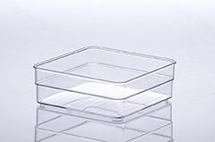 Organizador Diamond Cristal | 15X15X5,2CM - 937