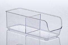 885 - Organizador Diamond com Divisória Cristal | 28X10X9CM