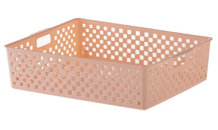 889 - Cesto Organizador Quadratta | 34X27X9CM