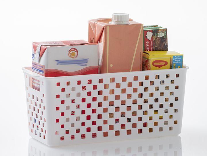 Cesto Organizador Quadratta | 27X12X12CM - 893