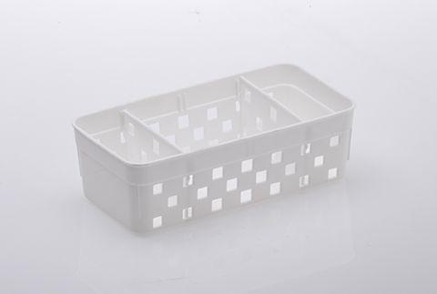 1064 - Cesto Organizador c/divisorias Quadratta 16x8x5