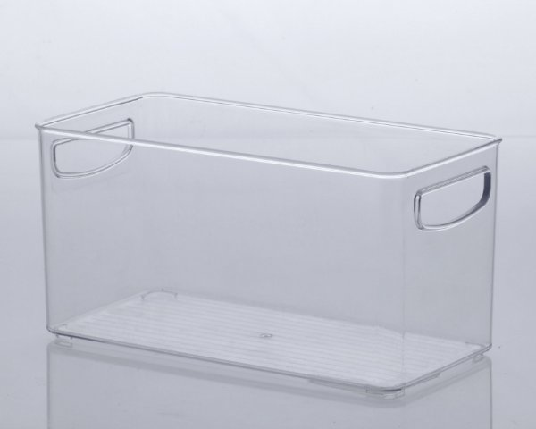 1072 - Organizador Diamond 30 X 15 X 15cm - Cristal