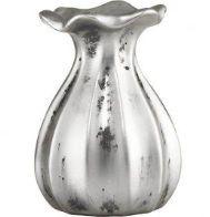 Vaso de cerâmica baulado