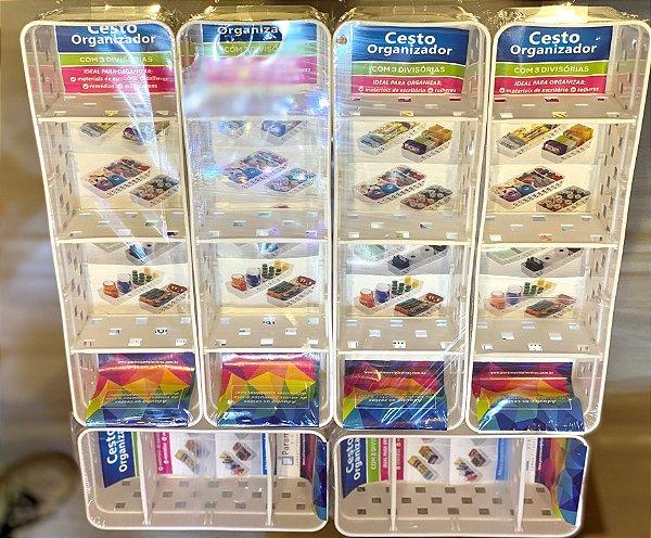 Kit Organizador c/ Divisória Quadratta Fino