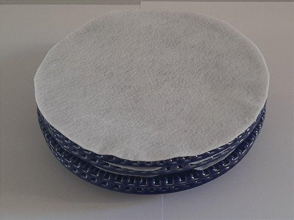 Protetor de pratos em feltro G kit c/12