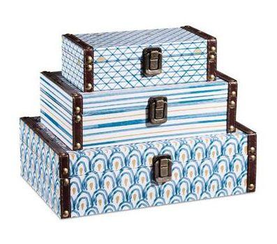 Kit caixa azul - 3 peças