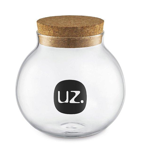 Porta mantimento baleiro vidro 500ml - UZ