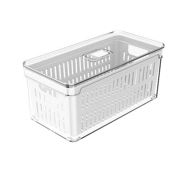 Organizador clear fresh c/cesto 5L - OU