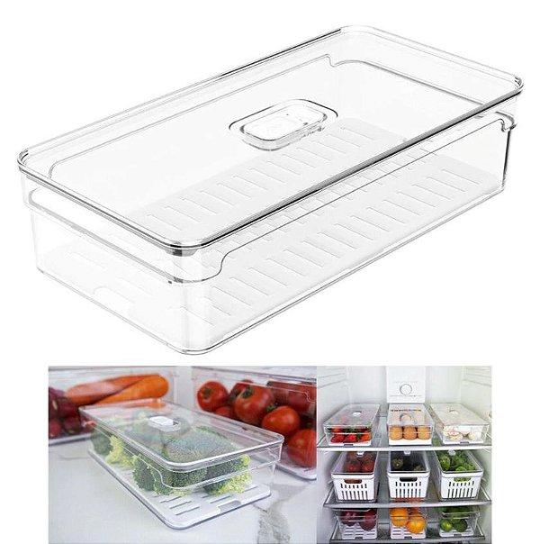 Organizador Clear Fresh Natural 2,8L - OU