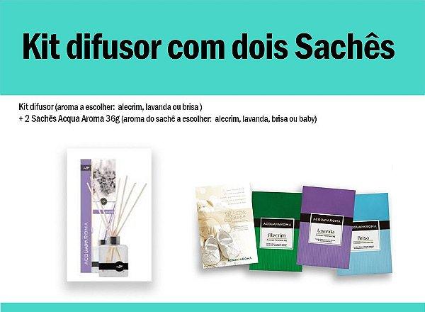 Kit difusor c/2 sachês 12g