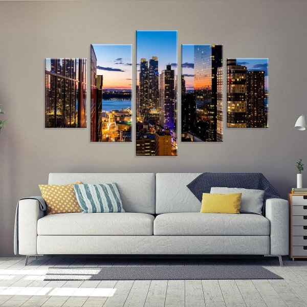 b789ee97a Conjunto de Telas Decorativas em Canvas - Love Decor - Uma Empresa ...