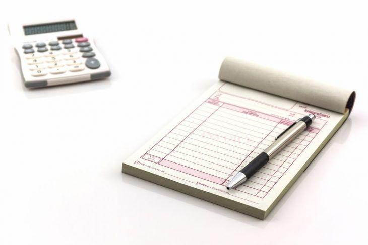 Nota Fiscal 15x20cm/ 1x0/ 3 vias