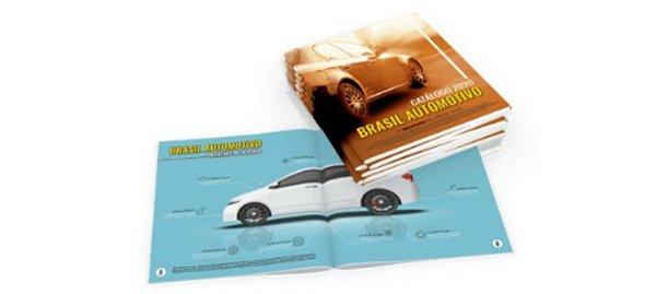 Catálogos e Revistas 21x29,7cm 12 páginas
