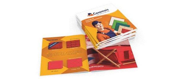 Catálogos e Revistas Personalizados 8 páginas