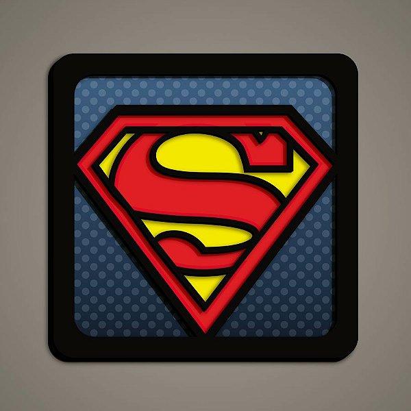 Quadro Herói 3D - Super Man
