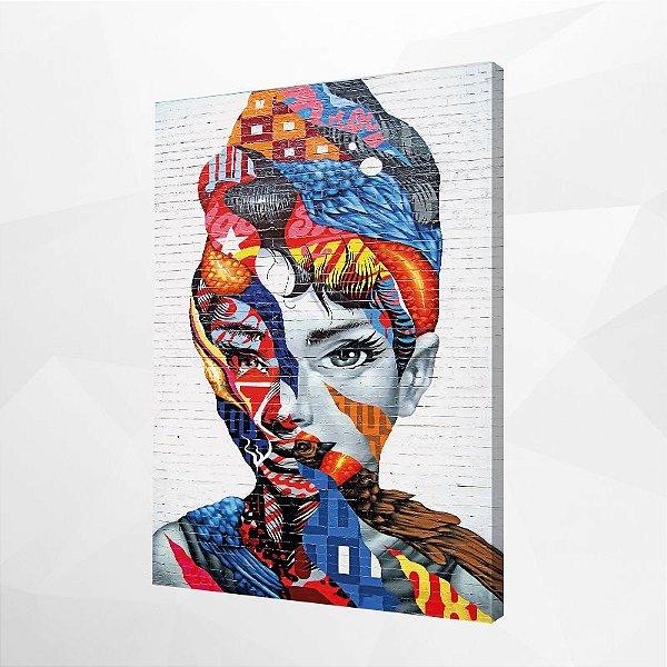 Quadro – Audrey Hepburn Street Art
