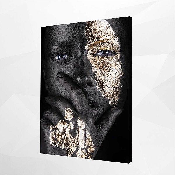 Quadro – Black & Gold Woman – 2