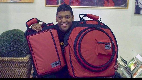 HARD BAG com 3 Divisões em Nylon, para PRATOS.