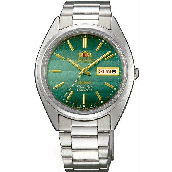 4b521bddac7 Relogio Orient Classico Automatico 3 Estrelas FAB00007F9