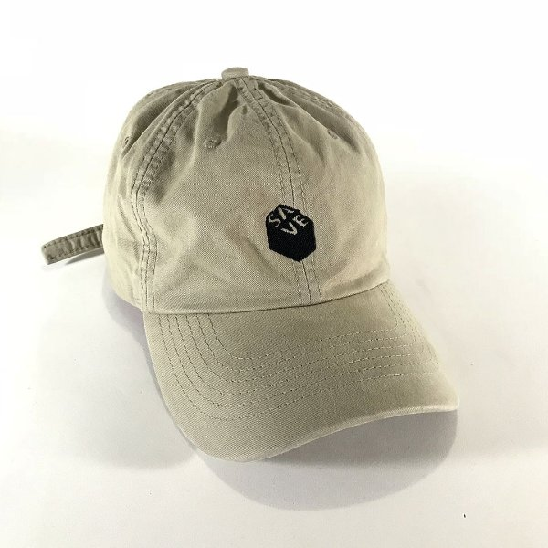 BONÉ DAD HAT SAVE 3D BEGE