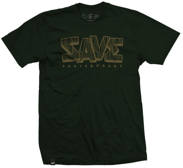 CAMISETA WOOD VERDE MUSGO