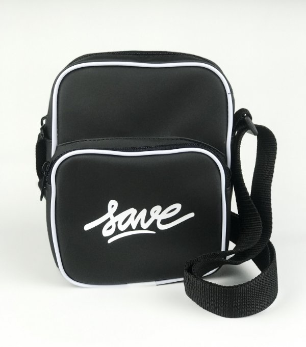 SHOULDER BAG LOGO BRANCO