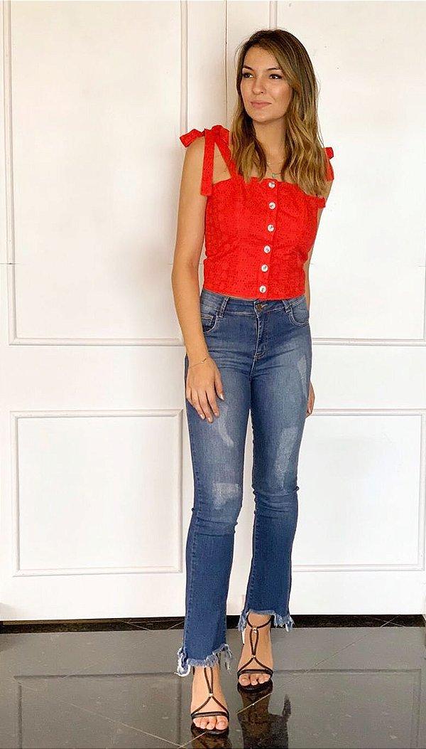 Calça Jeans Feminina - Lana