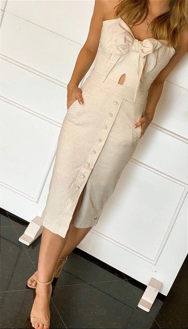 Vestido Linho Serenity