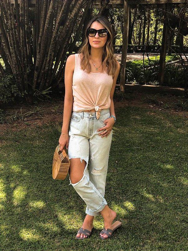 Calça Jeans Feminina Boyfriend - Goya