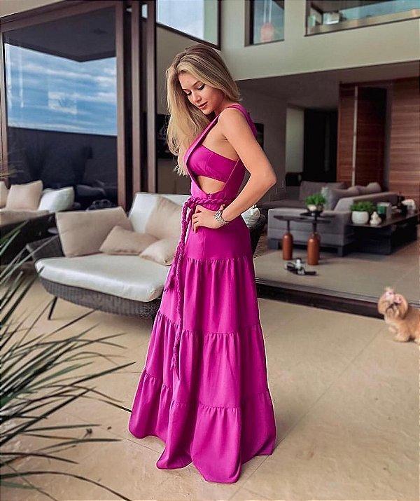 Vestido Recorte Mia